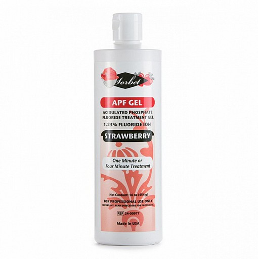 A.P.F.GEL STRAWBERRY PH 4,5-вкус